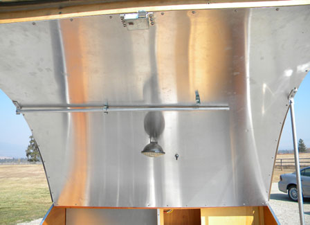 Galley Lid with Support Brace