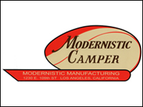 Modernistic Camper Decal