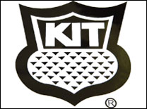 KIT Teardrop Camper Logo Decal