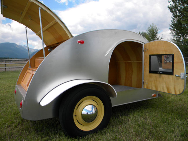 Teardrop Trailer Kits Parts